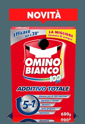 Omino Bianco 100 Additivo Totale Polvere 430 gr