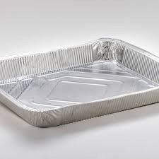 Vaschette alluminio decla 12 porzioni senza coperchio 2 pezzi