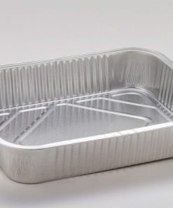Vaschette alluminio decla 6 porzioni senza coperchio 2 pezzi