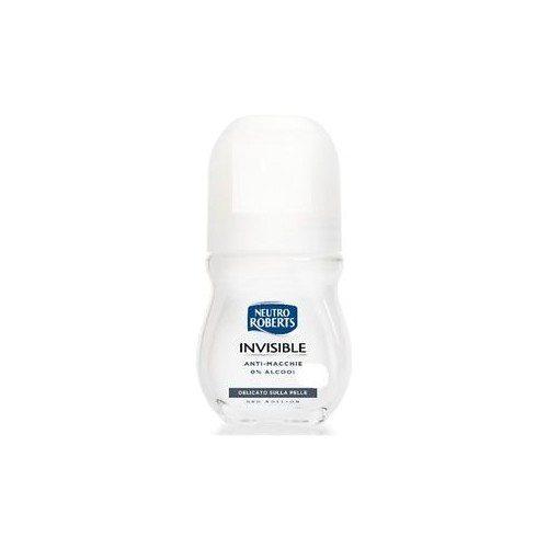 Neutro Roberts Deodorante Invisible antimacchie delicato Roll on 50 ml