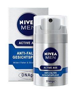 Nivea Men, Crema idratante antirughe DNAge, 50 ml