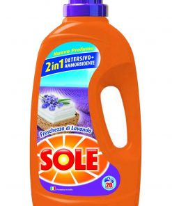 Sole Liquido 2in1 con Ammorbidente 20 misurini