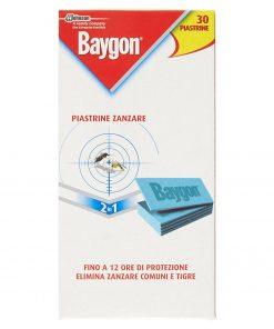 Piastrine ricarica zanzare Baygon 30 pezzi
