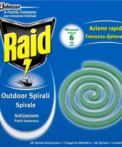 Raid® Spirali Antizanzare 10 pezzi