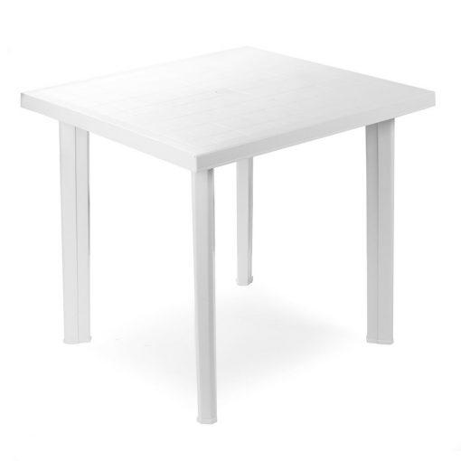 Tavolo componibile rettangolare bianco Fiocco Progarden