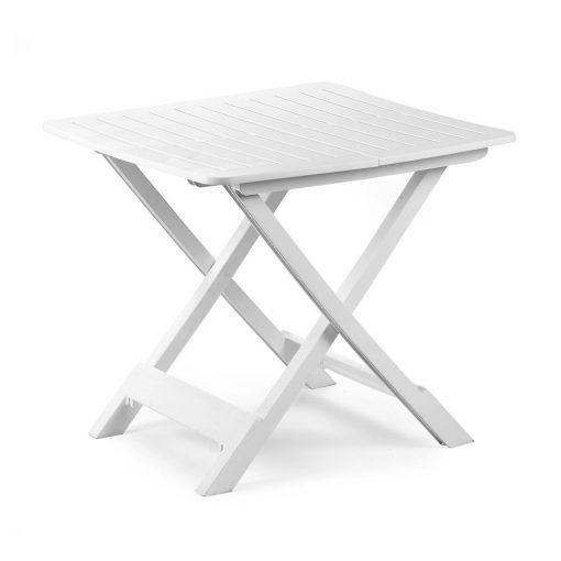 Tavolo pieghevole da campeggio bianco Tevere Progarden