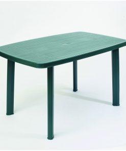 Tavolo conponibile ovale verde Faro Progarden