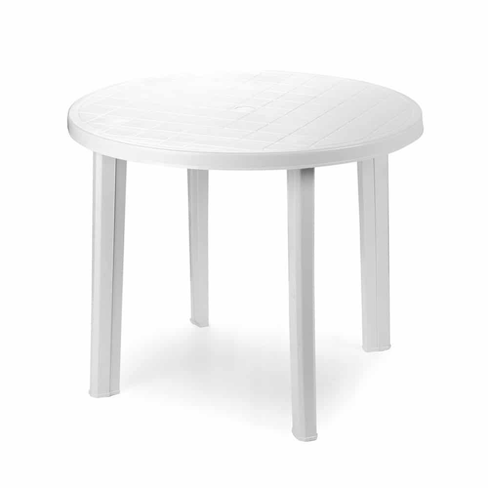 Tavolo rotondo bianco Tondo Progarden - Piazza Mercato Casa