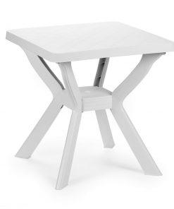 Tavolo quadrato bianco Reno Progarden