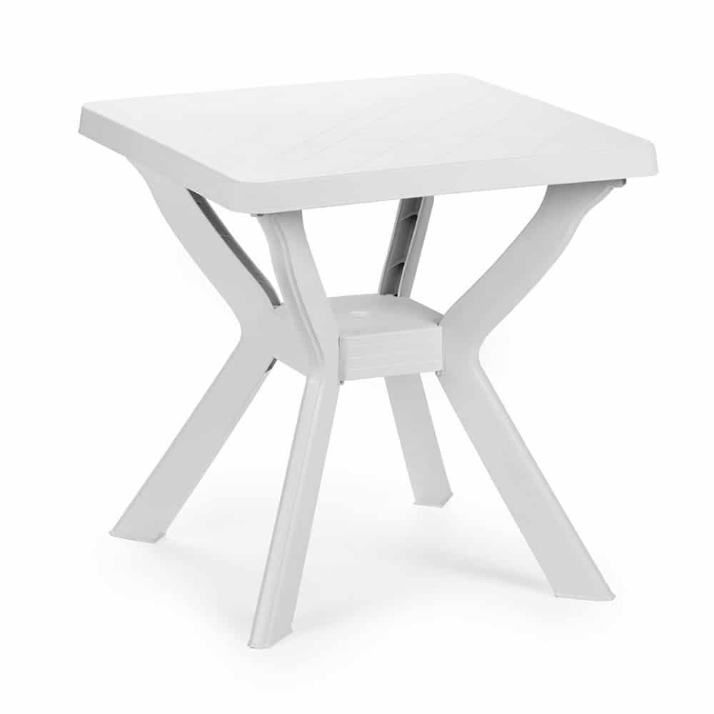 Tavolo quadrato bianco Reno Progarden - Piazza Mercato Casa