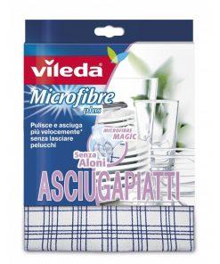 Panno Microfibre Plus Asciugapiatti Vileda