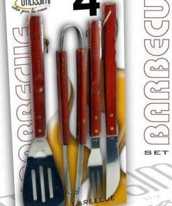 Set 4 pezzi Barbecue Gicos Utilissimi