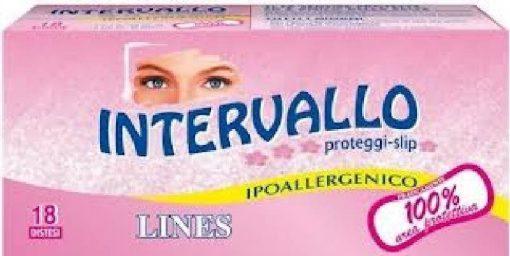 Lines Intervallo Proteggi Slip Disteso 18 pezzi