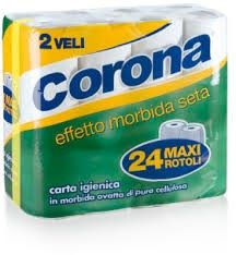 Carta Igienica Corona 24 Rotoli