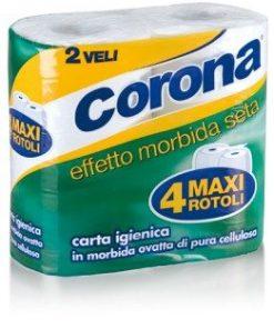 Carta Igienica Corona 4 Rotoli