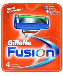 Gillette Fusion Ricarica 4 Pezzi