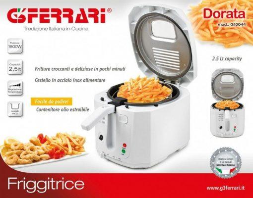 Friggitrice Dorata 2,5 lt G3Ferrari G10044