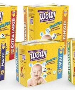 10 pacchi Pannolini Wow
