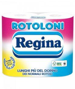 Regina Carta Igienica 4 Rotoli Classica e Camomilla