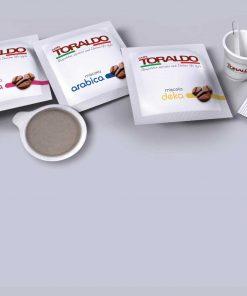 Cialde Caffè Toraldo - 150 pezzi con Kit