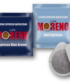 Cialde Caffè Moreno - 150 pezzi con Kit