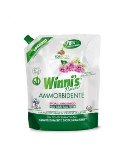 Winni's Ammorbidente Ecoformato Eliotropio e Muschio Bianco 1000 ml