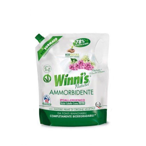 Winni's Ammorbidente Ecoformato Eliotropio e Muschio Bianco 1000 ml