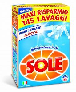 Sole Lavatrice Bianco solare Polvere 145 mis