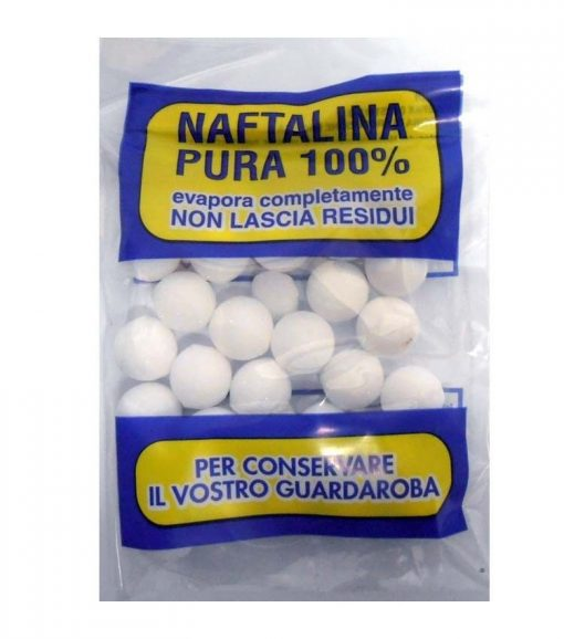 Naftalina Pura 100% a palline 100 gr