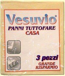 Panno Tuttofare 3 pezzi Vesuvio