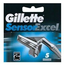 Gillette Sensor Excel Ricarica Testine