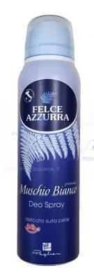 Felce Azzurra Deodorante Spray Muschio Bianco 24h