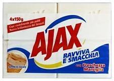 Ajax Sapone Bucato 4 pezzi 150 gr