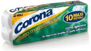 Carta Igienica Corona 10 Rotoli