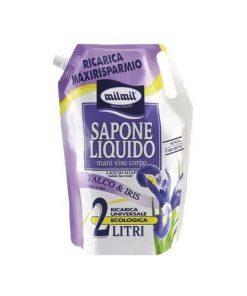 MilMil Sapone Liquido - Ricarica da 2 lt