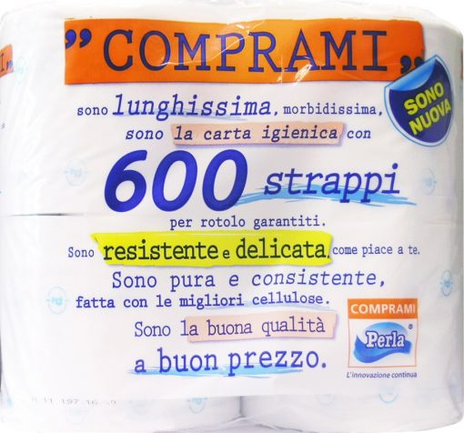 Carta Igienica Wepa Comprami 4 Rotoli