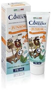Pasta Del Capitano Junior 6 Anni 75 ml