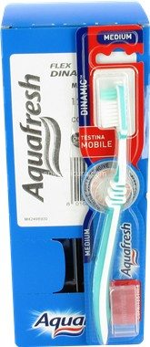 Spazzolino Aquafresh Dinamic Medium