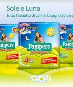 Pannolini Pampers Sole e Luna