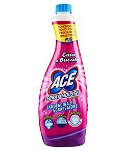 Ace Spray Mousse - Candeggina più sgrassatore Ricarica