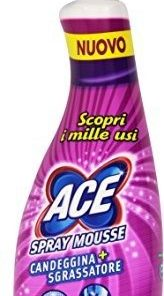 Ace Spray Mousse - Candeggina più sgrassatore