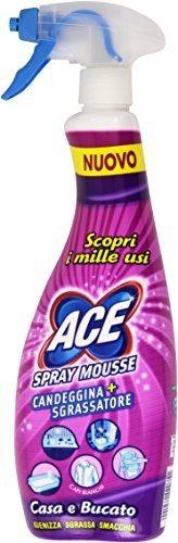 Ace Spray Mousse - Candeggina più sgrassatore
