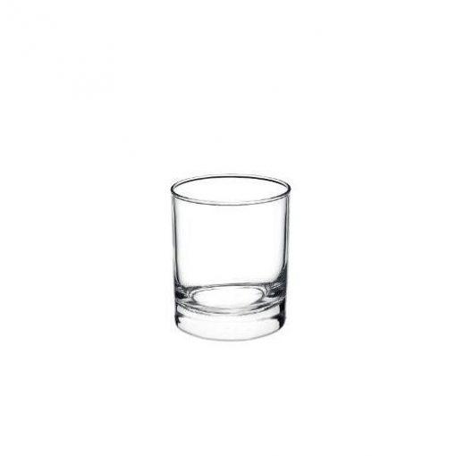 Bicchieri vino Cortina Rocco Bormioli misurini 19,5 3 pezzi
