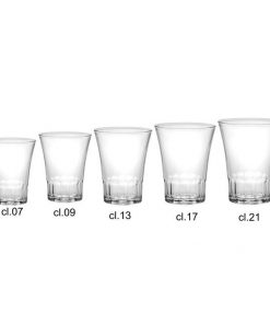 Bicchieri infrangibili 7 cl Amalfi Durex 4 pezzi