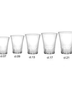 Bicchieri infrangibili 21 cl Amalfi Durex 4 pezzi